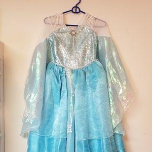 Disney Elsa Frozen Dress Costume